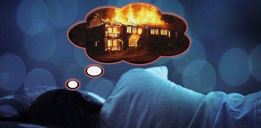 Giấc mơ thấy cháy nhà