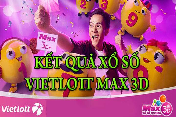 cơ cấu giải thưởng Max 3D