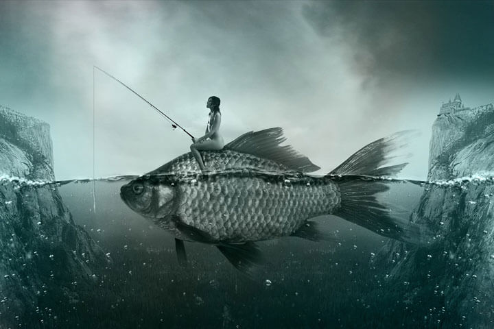 Nằm mơ về cá tốt lành