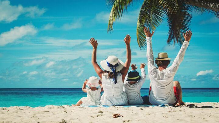 Đi du lịch với gia đình