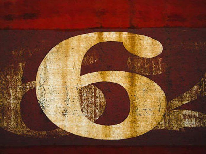mơ thấy số 6