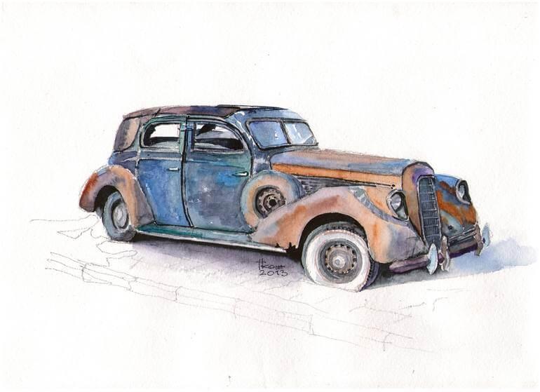 Nằm mơ mua xe cũ