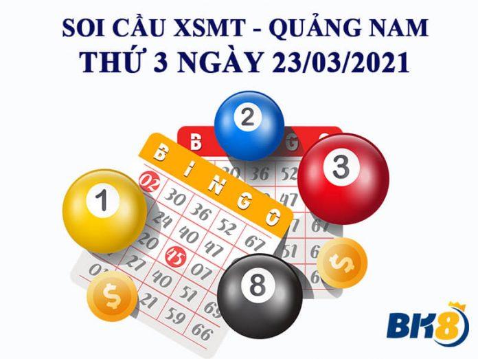 Dự đoán KQXS đài Quảng Nam ngày 23/03/2021