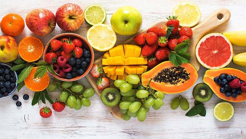 Nằm mơ thấy trái cây màu sắc khác nhau